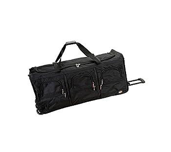 Rockland Rolling Duffel Bag Black 40-Inch