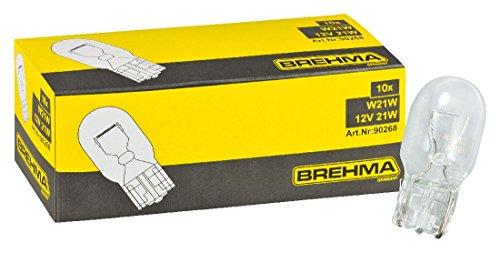 BREHMA 10x W21W 12V 21W W3x16d