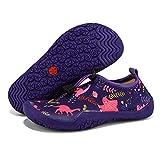 Gaatpot Toddler Kids Water Shoes Girls Boys Non-Slip Quick Dry Beach Swim Shoes Barefoot Aqua Socks for Outdoor Sport Surf