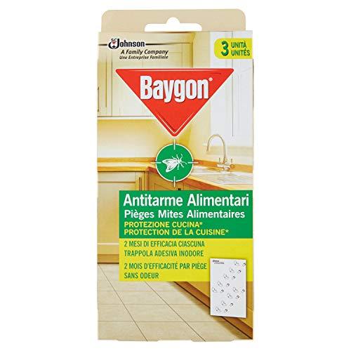 Baygon - pack de 3 pièges mites alimentaires