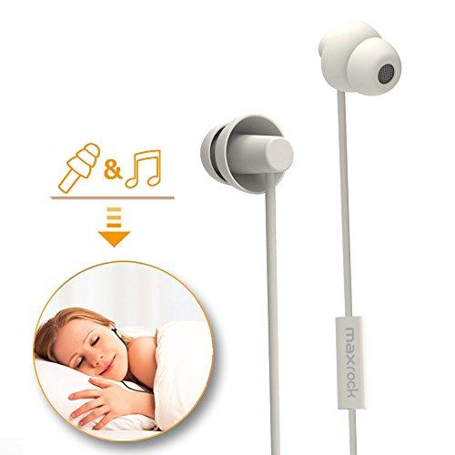 MAXROCK Sleeping Headphones, in-Ear Soundproof...