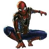 ASPIDER Rache Spiderman Kostüm Cosplay Strumpfhose Eisen Spiderman 3D Print (Farbe : Red, größe :...