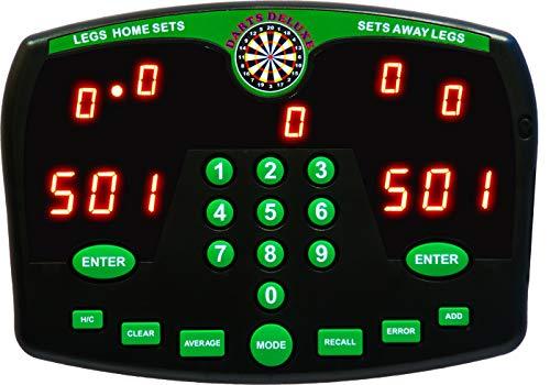 Darts Deluxe Electronic Dart Scorer Elektronische Anzeigetafel