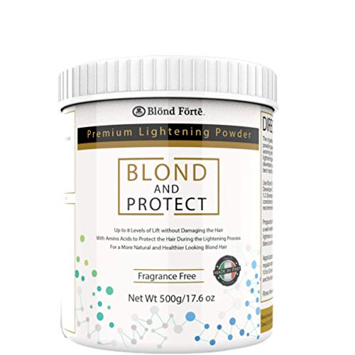 1.1 Pound (18 Ounce) Tub 8+ Level Bleaching Powder/Lightener with Amino Acids Made in Italy (Blue Powder) New Mexico