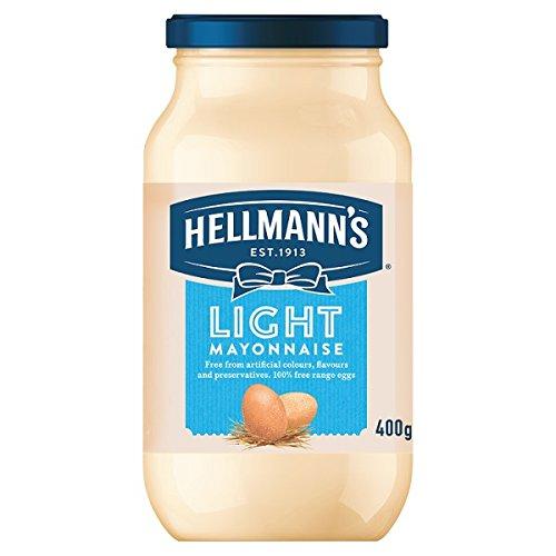 400 g de mayonesa ligera Hellmann (Pack de 6 x 400 g)