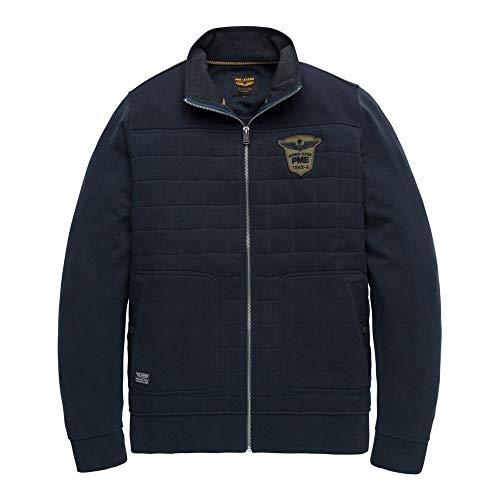 PME Legend Zip Jacket Rib Terry - Sweatjacke, Grösse:L, Farbe:Grey