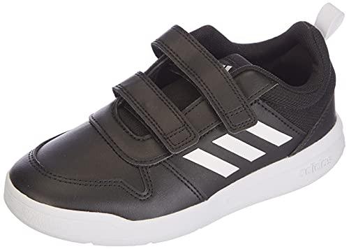 adidas TENSAUR C, Scarpe da Corsa Unisex-Bambini, Core Black/Ftwr White/Core Black, 28 EU