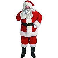 Professional Santa Claus Suit Costume - Large - Chest Size 42-48
