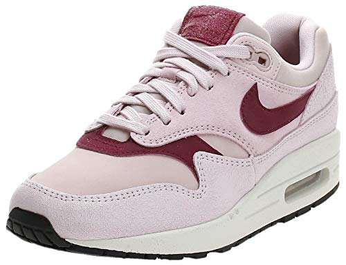 Nike Damen WMNS Air Max 1 PRM Leichtathletikschuhe, Mehrfarbig (Barely Rose/True Berry/Summit White 604), 38 EU