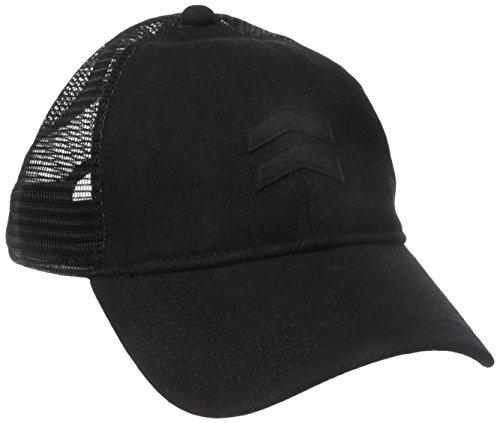 A. Kurtz Herren Charlie Trucker Cap Kappe, schwarz, Einheitsgröße