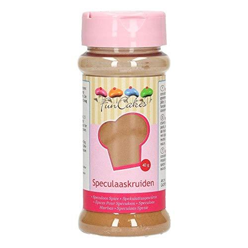 FunCakes Speculoos Spice: Espéculos Tradicionales o Galletas Speculoos, Mezcla de Especias. 40g