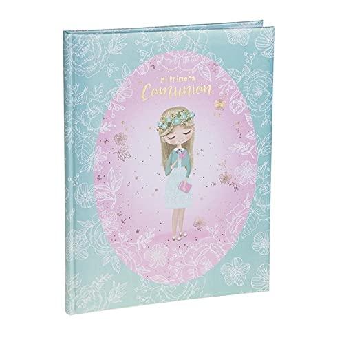 Busquets Libro Recuerdos Primera Comunión Niña Wings Rosa
