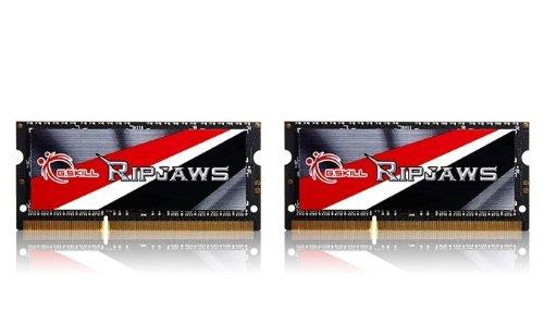 G.Skill Ripjaws Series 8GB (2 x 4GB) 204-Pin DDR3 SO-DIMM 1600 (PC3L 12800) Laptop Memory F3-1600C11D-8GRSL