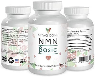 NNM β- Nicotinamide Mononucleotide Large discharge sale 125mg's Ranking TOP7 + 200mg's CoQ10