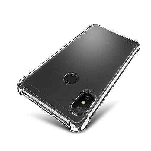 Capa Antishock Anti Impacto para Xiaomi Mi 8 Tela 6.21 Case Transparente Bordas Reforçadas Anti-Quedas