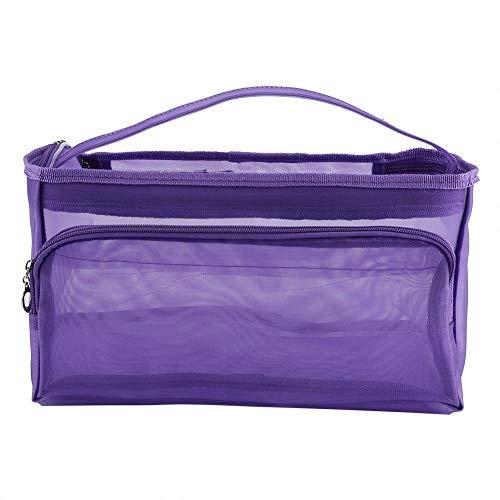 knitting bag filato Storage/portatile Tote uncinetto 3 fori sottovuoto, per...