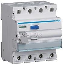 OIASD Interrupteur de Fuite triphas/é /à Quatre Fils commutateur dair 380V 16A-63A 32A DZ47LE 4P