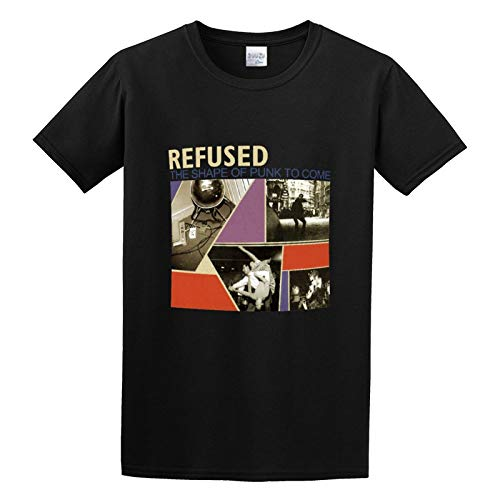 Refused Band Shape of Punk To Come tee O Neck Men Shirt 3XL, Black