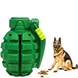 Dog Toys for Aggressive Chewers Large Breed, Lifetime Replacement, Indestructible Dog Chew Toys for Large Medium Small Dogs, Grenade Interactive Dog Toys, Food Grade Tough Dog Toys
