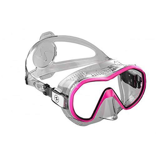 Aqua Lung Plazma - Máscara (Silicona Transparente/Rosa)