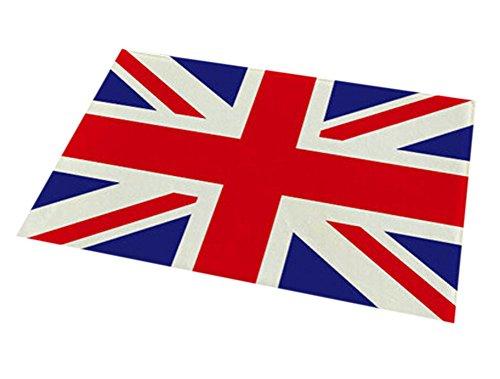 Black Temptation Bandera de Inglaterra Hermosa Antideslizante Puerta Mat Cocina/Dormitorio/Home Alfombra 40x60cm