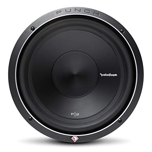 Rockford Fosgate P2D4-12 Punch P2 DVC 4 Ohm 12-Inch 400 Watts RMS 800...