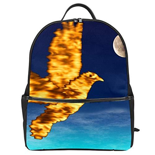 Pentecost Holy Spirit Dove Night Sky Mochila escolar de lona de gran capacidad, mochila de viaje casual para niños, niñas, niños y estudiantes