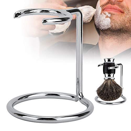 Porte-brosse à raser en acier inoxydable, porte-rasoir antioxydant compact et portable, outil de rasage nécessaire pour un usage domestique