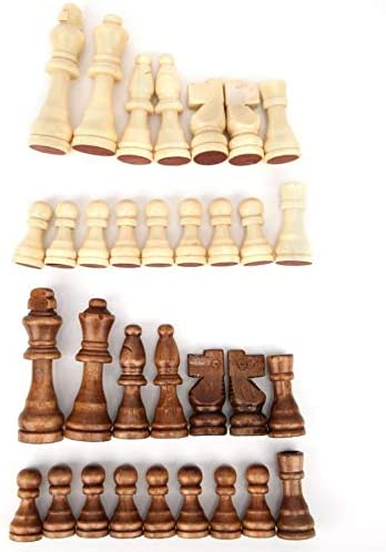 VUFP Wooden Games 32pcs 55 77 35% OFF Pi International Challenge the lowest price Chess 91mm