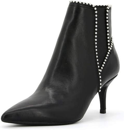 Guess tronchetti stivali da donna in pelle 35198-36