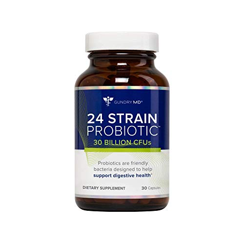 Gundry MD™ 24 Strain Probiotic with 30 Billion CFUs, 30 Count