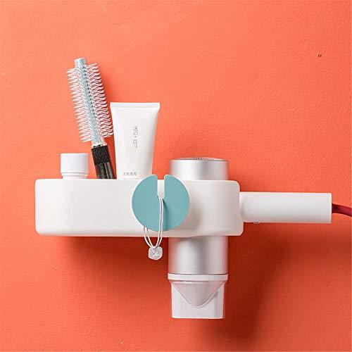 ILS Jordan & Judy Tendedero de plástico multifunción sin agujeros de perforación, tendedero de baño