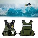 Holmeey Angel West, Flotabilidad, Asistencia Adecuada para Deportes Acuáticos, Chalecos Salvavidas Resistentes al Desgaste para Kayak y Botes de Pesca