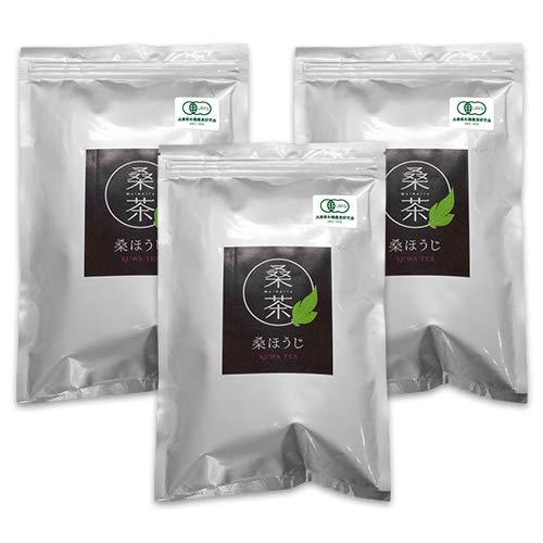 ハッピーブレッシング 桑の葉ほうじ茶 30包(75g) 3袋セット 桑茶 健康茶 ノンカフェイン お茶 抗酸化成分 ダイエット 糖質