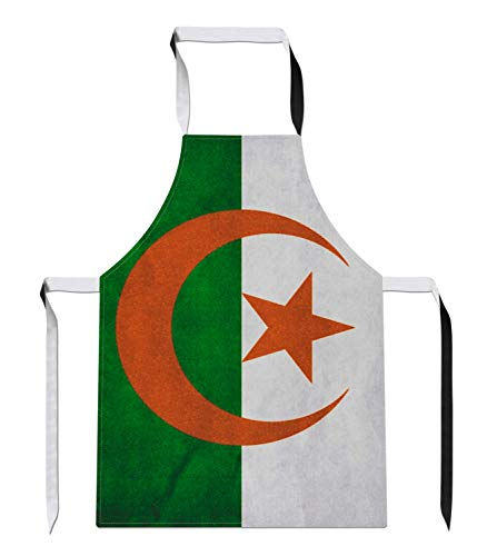 Tr73ans Vintage Algerije Land Vlag Nieuwigheid Voetbal APRON Gift Keuken Tabard Sport Kookgerei Gift