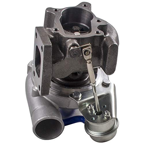 YLG GT2871 T25 de 4 Tornillos for SR N-I-S-S-A-N- / CA S13 / S14 240SX 5-Perno del Reborde Turbo Cargador GT28 Com A/R 0,60 Turbine A/R 0,64 T25 T28 Agua Aceite