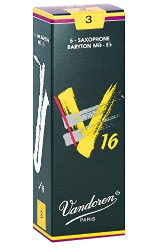 Vandoren SR743 - Caja de 5 cañas para saxofón barítono