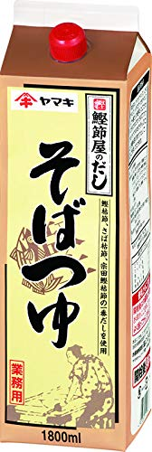ヤマキ Nそばつゆ 紙パック 1.8L