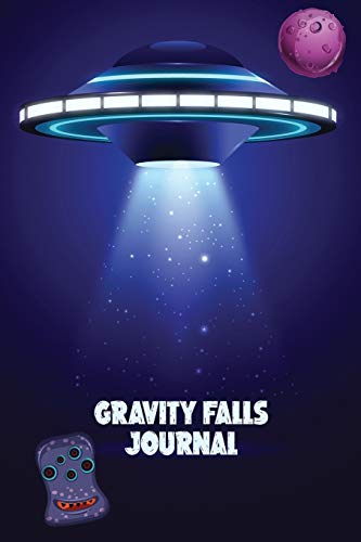Gravity Falls Journal : Interactive Journaing book with science/alien/ robotic theme for gravity falls journal 1 2 and 3 edition fans | With bonus sudokus to sharp you brain