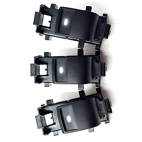 Luz blanca retroiluminación led 3X interruptor de una sola ventana para pasajero apto para Toyota RAV4 apto para Camryaptopara Corolla Auris84820-06130-08-13_Vios