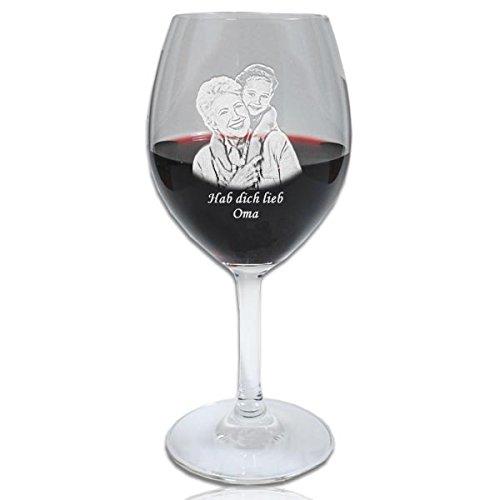 SPIEGELAU Rotweinglas mit Fotogravur/individuell gestalten