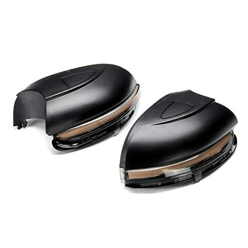 Rückspiegelleuchte Dynamic Blinkerleuchten Kompatibel mit VW Golf MK6, Golf G-TI 6, R20 2008-2012, Touran 2011-2015