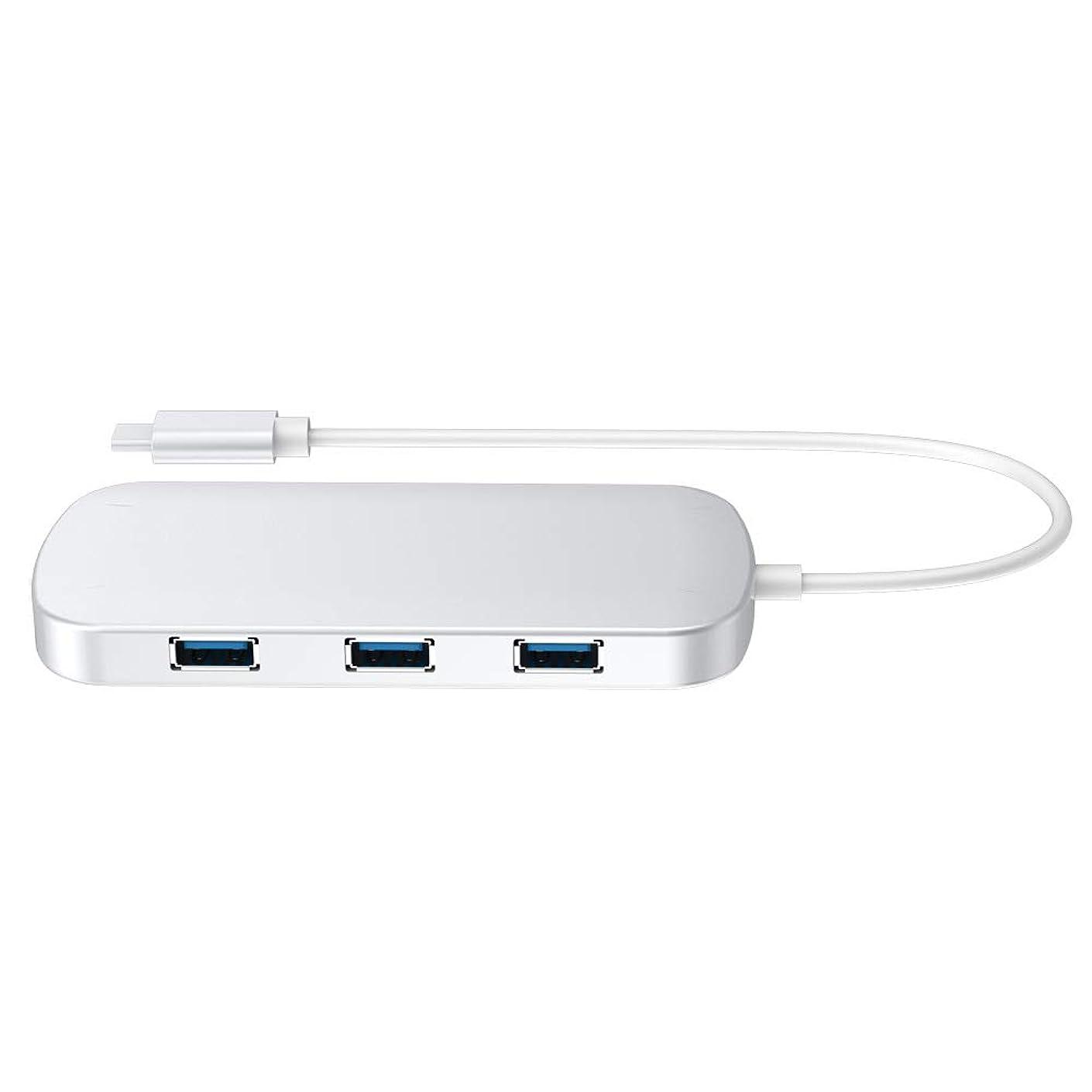 Semoic Type-C Docking Station Type-C Hub Converter Hdmi+ Card Reader + Hub+Pd Type-C Converter