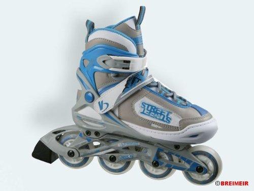 Californian Pro Kinder Inline Skate größenverstellbar, blau/grau, 28-32, 348.12.10.0