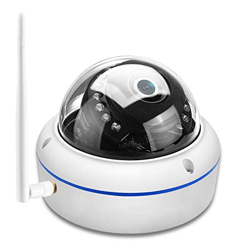 SCAYK Cámara IP inalámbrica 1080P Cámara a Prueba de vandalismo Cámara de cúpula WiFi Night Vision Movimiento Detectar ONVIF YOOSEE ONVIF RTSP P2P cámaras de Seguridad Sistemas de Seguridad para el