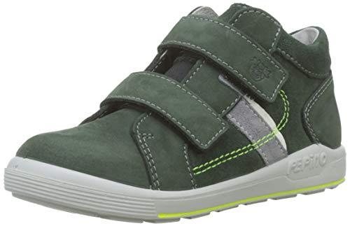 RICOSTA Jungen Laif Hohe Sneaker, Grün (Oliv 581), 25 EU