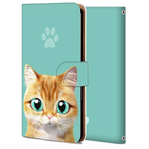 iPhone 5S ケース 手帳型 アイフォン 5S カバー スマホケース おしゃれ かわいい 耐衝撃 花柄 人気 純正 全機種対応 猫 ファッション かわいい アニマル 2666774