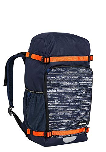 Chiemsee Bags Collection Schulrucksack, 48 cm, 4878 Dark Blue/Grey