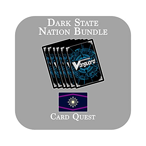 Cardfight!! Vanguard 200 Card Nation (Premium Format Clan Mix) Bundle Lot [Dark State]