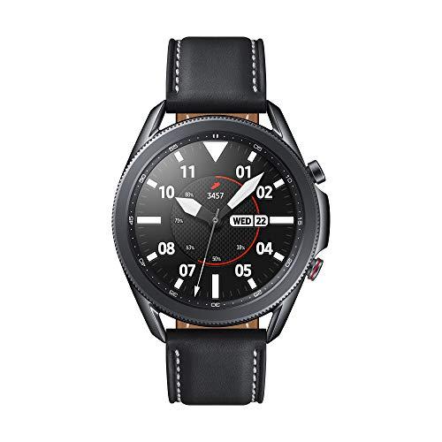 Samsung Galaxy Watch 3 4G Stainless Steel 45 mm Smart Watch - Mystic Black (UK Version)